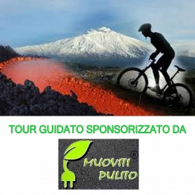 Tour guidato ETNA in MTB Moutain bike elettrica