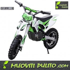 Mini Motocross elettrica Gazelle 500 watt