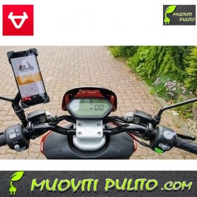 SUPPORTO SMARPHONE NIU N1S scooter elettrico Bosch Torino iPhone Samsung