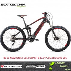 "BOTTECCHIA BE 60 NEWTON E-FULL SUSP.MTB 27,5"" PLUS XT/DEORE 20S e-bike brose"