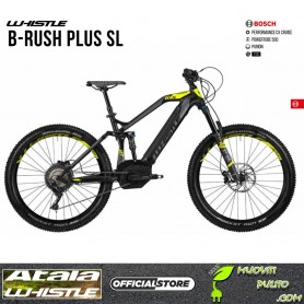 2019 whistle B-Rush plus SL Motore BOSCH Performance speed Batteria BOSCH Powerpack 400 atala