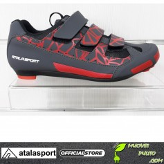 ATALASPORT SCARPE RACE AS POWERFUL RED bici bicicletta