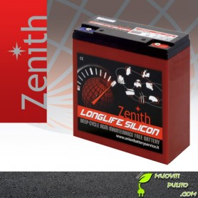 ZENITH AGM ZLS120120 12V 28AH BATTERIE Deep-Cycle uso ciclico scooter elettrici sigillate siliconiche