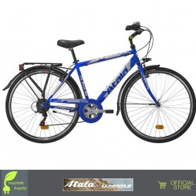 "ATALA BOSTON 6V MAN uomo city bike 28"" bici Torino"