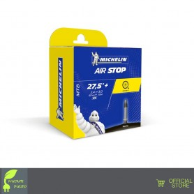 "Michelin 27.5 x 2.4-3.0 Airstop B6 Camera D´Aria"" Vp 40mm - Nero"