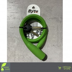 LUCCHETTO BYTE SILICONE CAVO 43 Byte