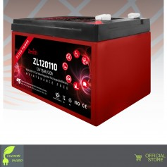 ZENITH AGM ZL120110 12V 13AH 20h BATTERIE Deep-Cycle uso ciclico cicliche