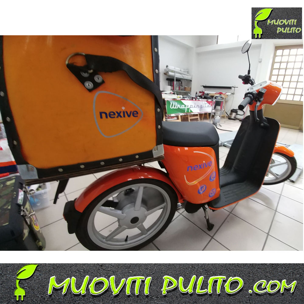 Wrapping scooter elettrici Nexive
